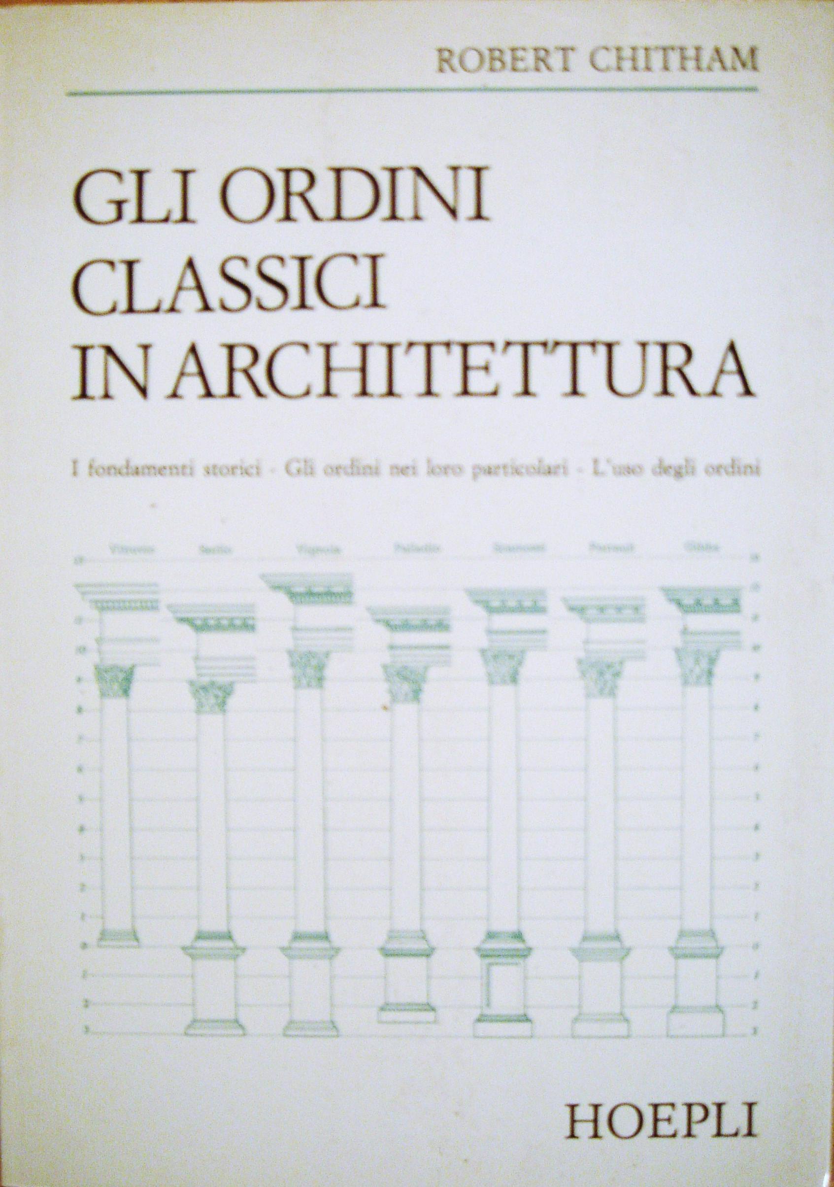 Gli ordini classici in architettura