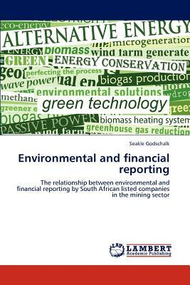 Environmental and financial reporting