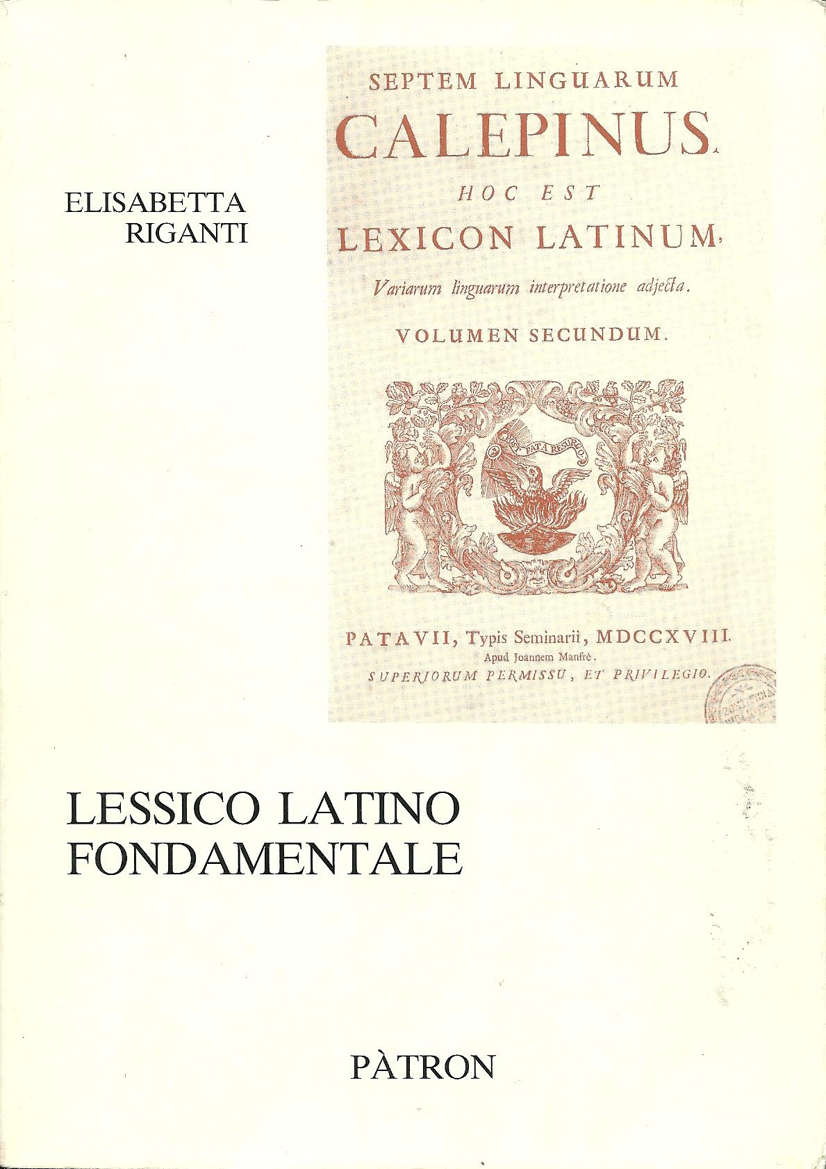 Lessico latino fondamentale