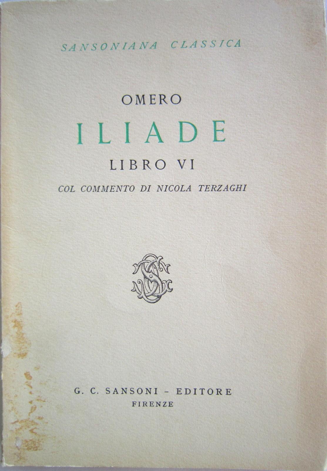 Iliade - Libro VI