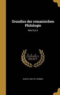 GER-GRUNDISS DER ROMANISCHEN P