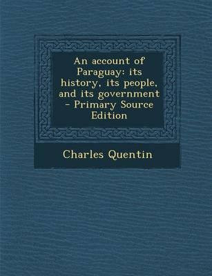 An Account of Paraguay
