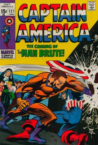 Captain America Vol.1 #121
