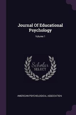 Journal of Educational Psychology; Volume 1