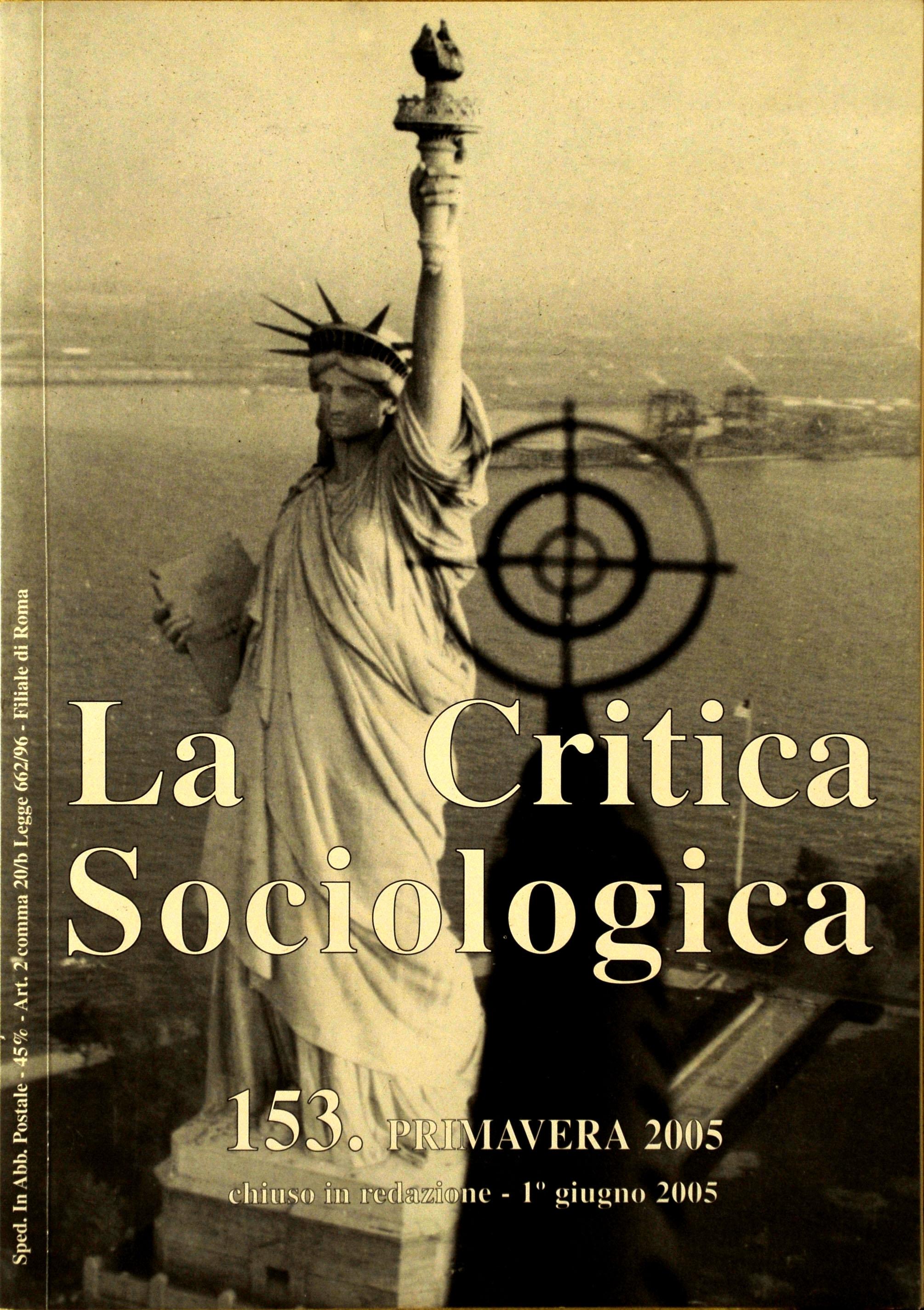 La critica sociologica
