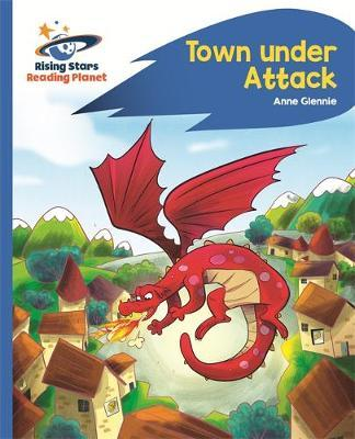 Reading Planet - Town Under Attack - Blue