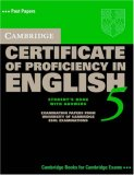 Cambridge Certificate of Proficiency in English 5 Self Study Pack