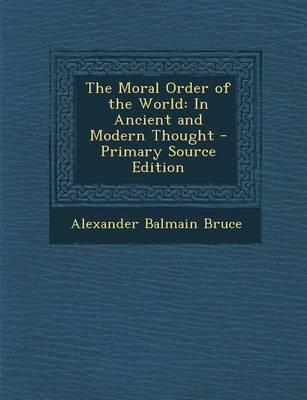 Moral Order of the World