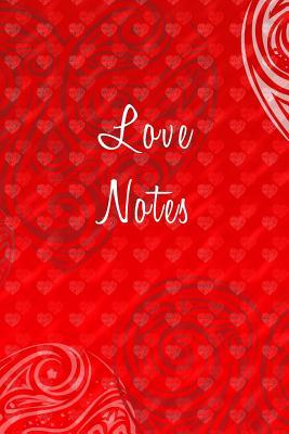 Love Notes - Blank Writing Journal - Red