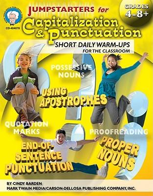 Jumpstarters for Capitalization & Punctuation