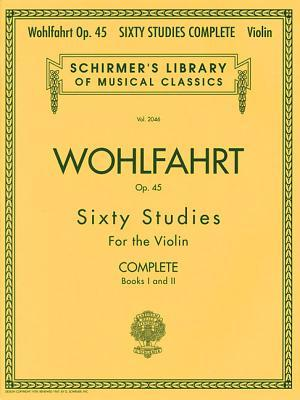60 Studies, Op. 45 Complete Books 1 and 2 Violin