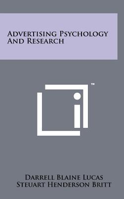 Advertising Psychology and Research