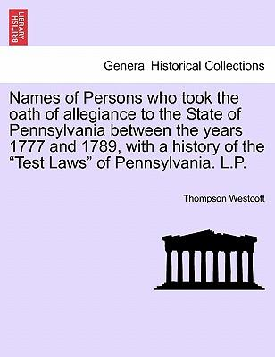 Names of Persons who...