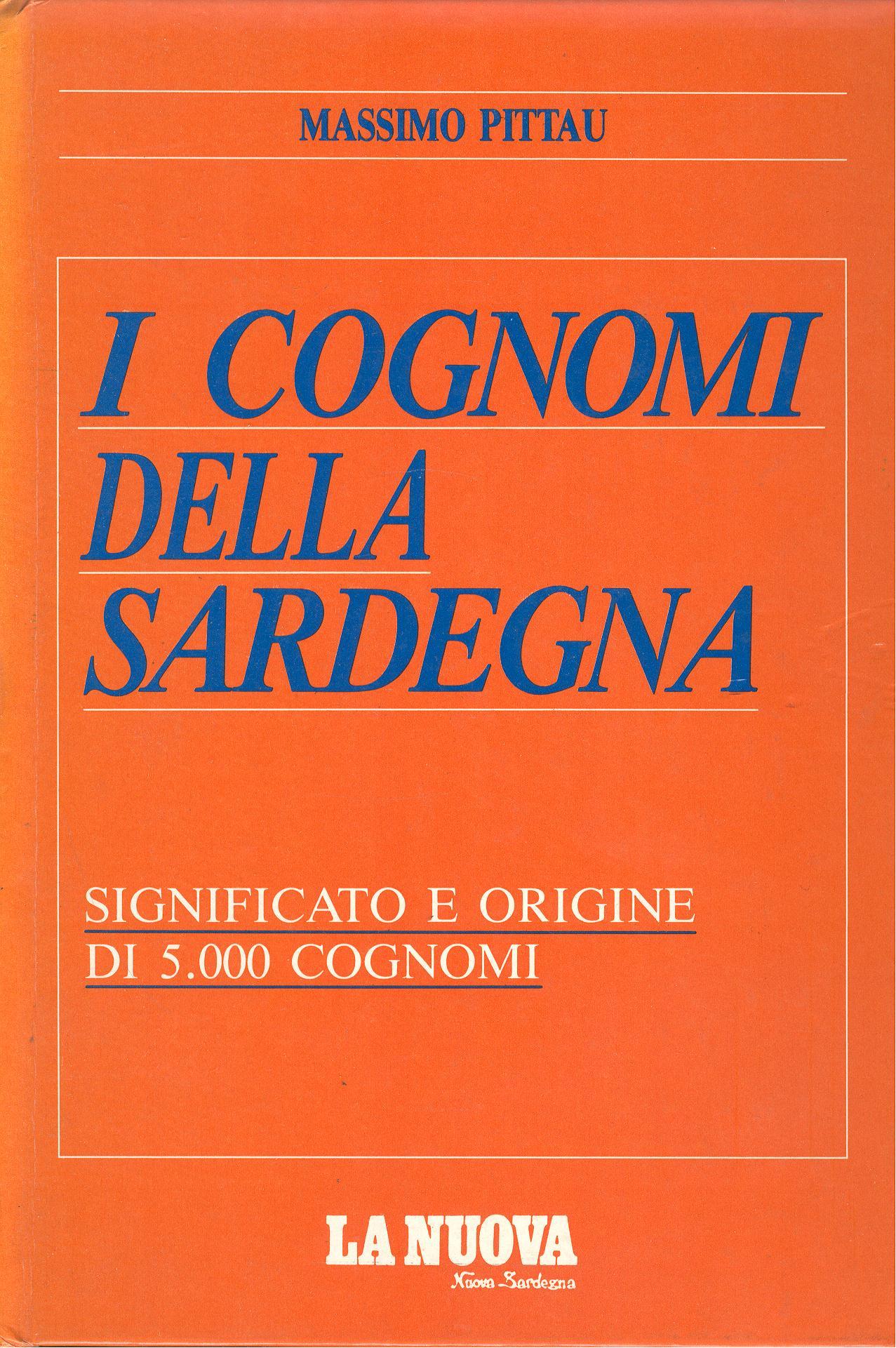 I cognomi della Sardegna