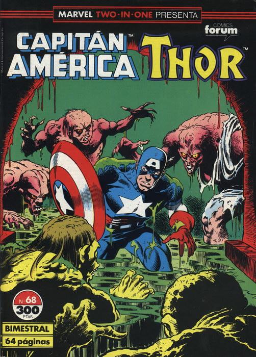 Marvel Two-in-One:Capitán América & Thor Vol.1 #68 (de 76)