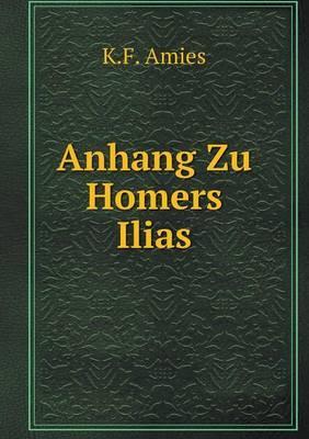 Anhang Zu Homers Ilias