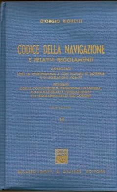 Codice della navigazione e relativi regolamenti