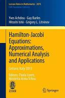 Hamilton-Jacobi Equations