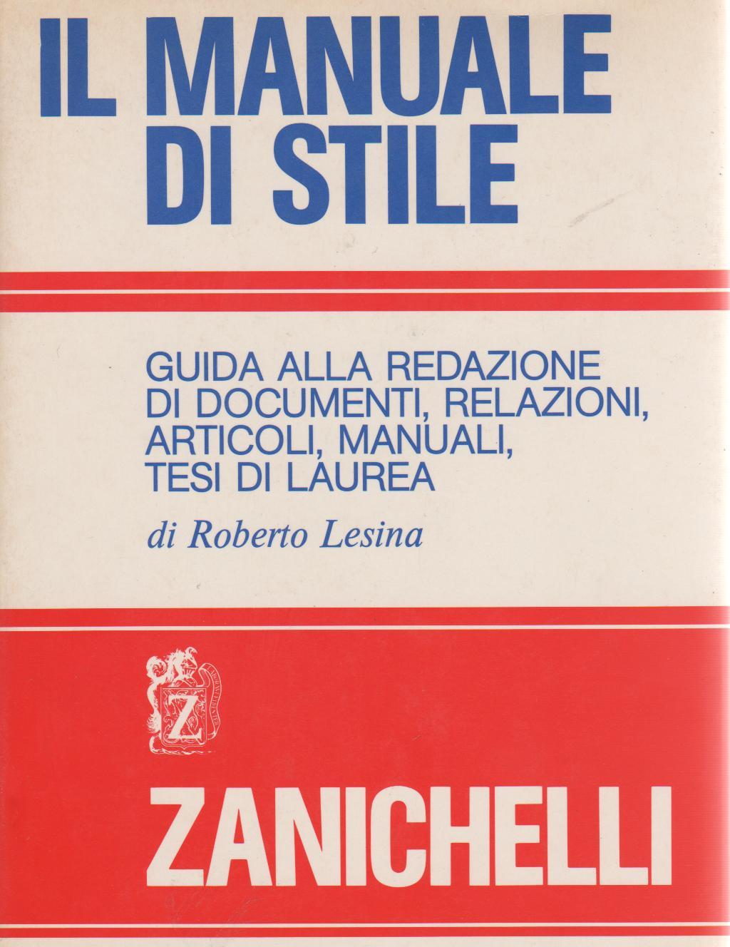 Il manuale di stile