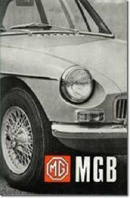 Mg Mga 1600 Owner Handbook