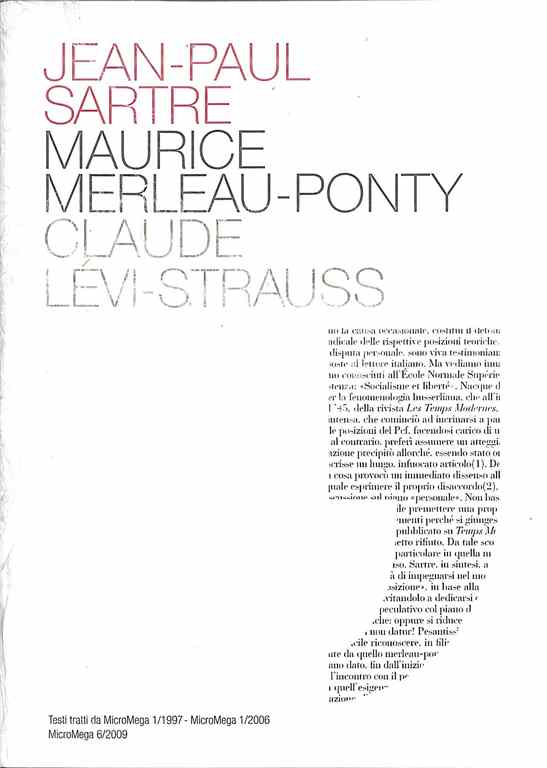 Jean-Paul Sartre, Ma...