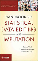 Handbook of Statistical Data Editing and Imputation