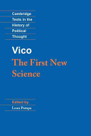 Vico: The First New Science