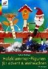 Holzklammer-figuren für Adventand Weihnachten.