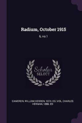 Radium, October 1915