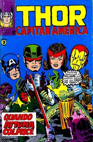 Thor e Capitan America (Il Mitico Thor) n. 203