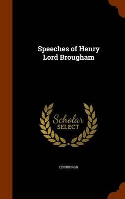 Speeches of Henry Lo...