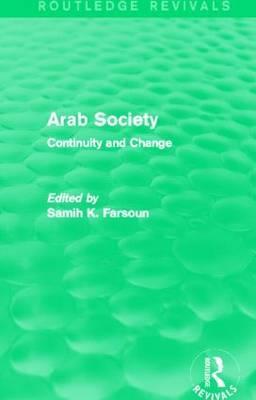 Arab Society (Routledge Revivals)