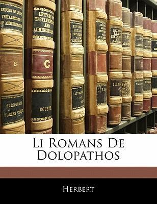Li Romans De Dolopathos
