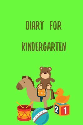 Diary for Kindergarten