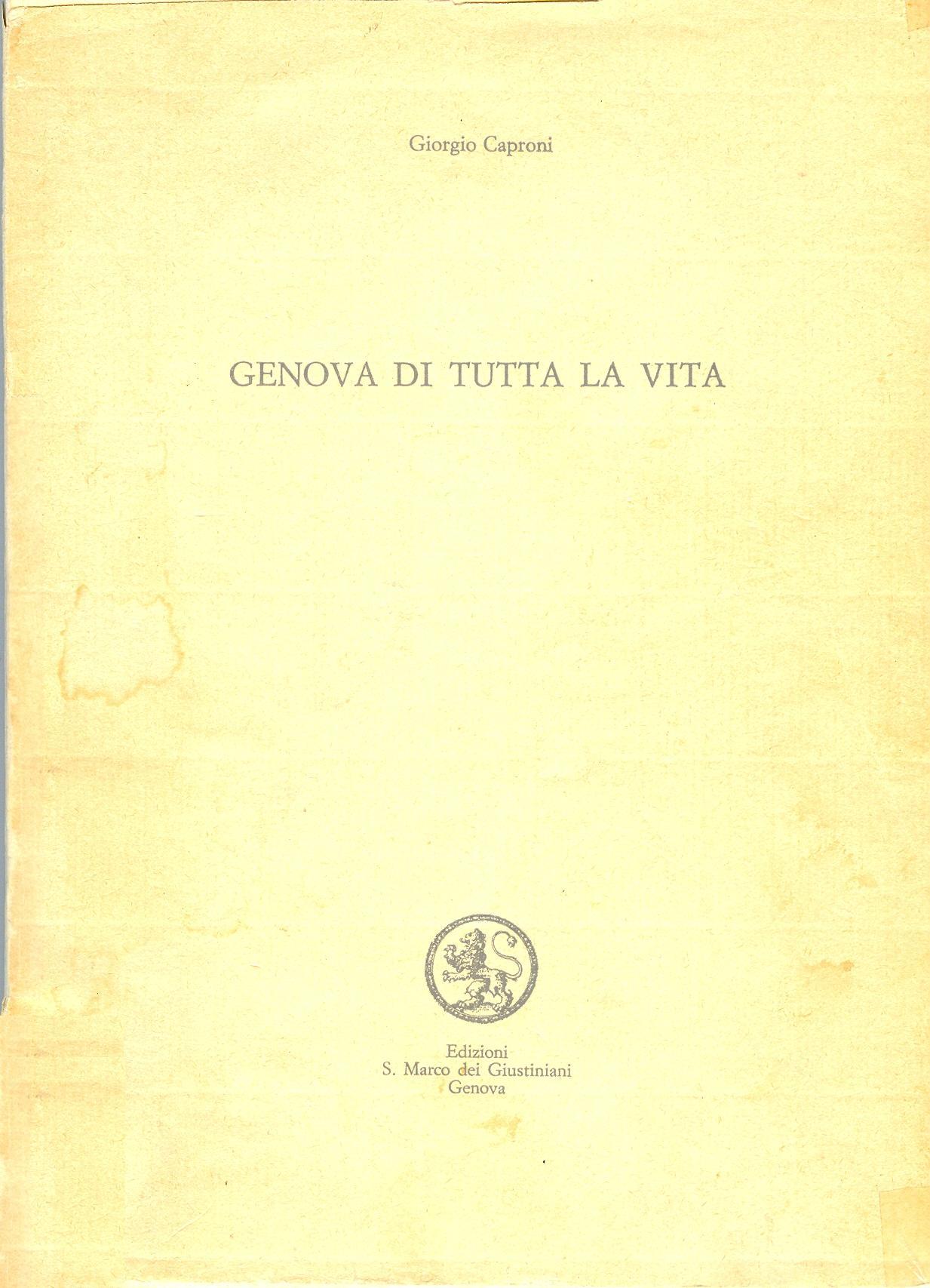 Genova di tutta la v...