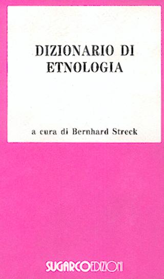 Dizionario di etnologia