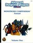 Monstrous Compendium Annual, Vol. 1
