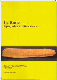 Le rune. Epigrafia e letteratura