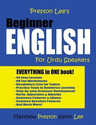 Preston Lee's Beginner English For Urdu Speakers