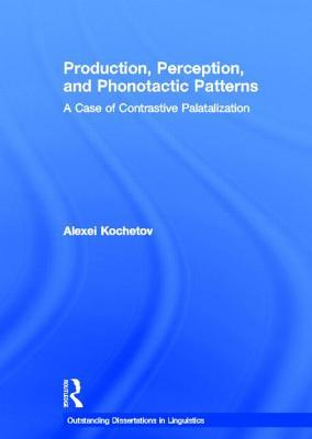 Production, Perception, and Phonotactic Patterns