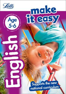 English Age 5-6 (Letts Make It Easy)