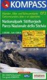 072: Nationalpark / Stilfser Joch / Parco Nazionale Dello Stelvio 1:50, 000