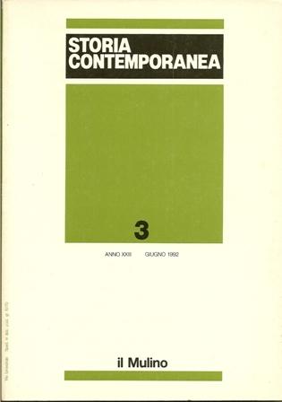 Storia contemporanea n. 3/1992
