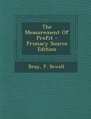 The Measurement of Profit