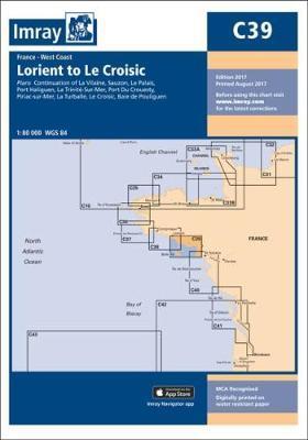 Imray Chart C39