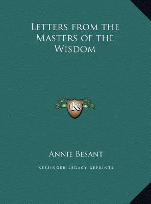 Letters from the Masters of the Wisdom