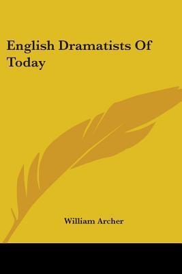 English Dramatists o...