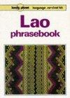 Lonely Planet Lao Phrasebook