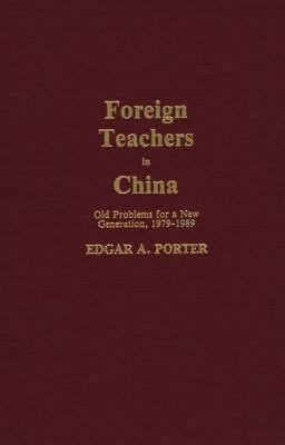 Foreign Teacher's in China