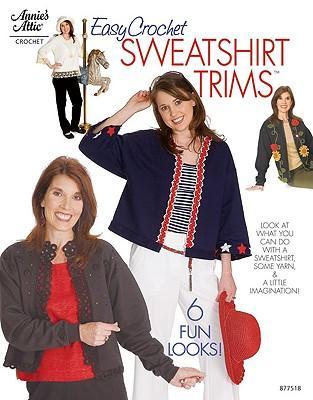 Easy Crochet Sweatshirt Trims